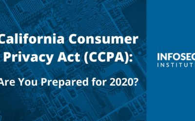 The California Consumer Privacy Act: What Your Business Needs to Know