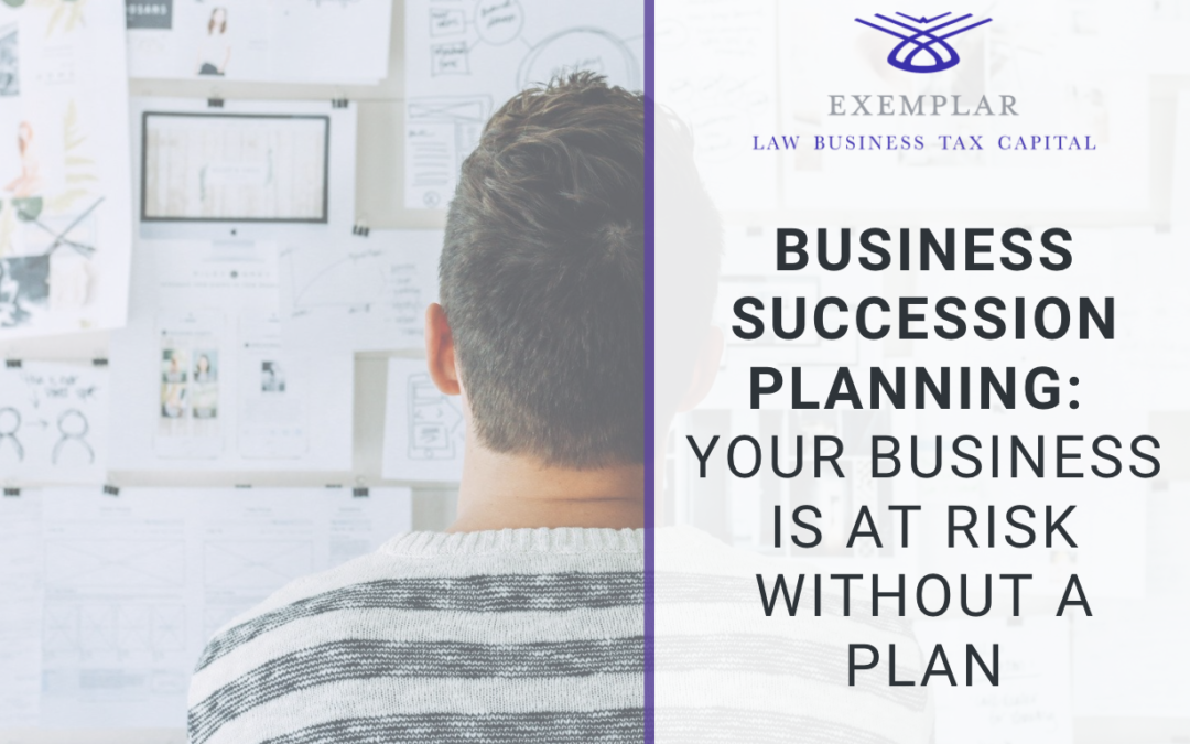 Succession Planning for Business Owners: Your Business Is at Risk Without a Plan