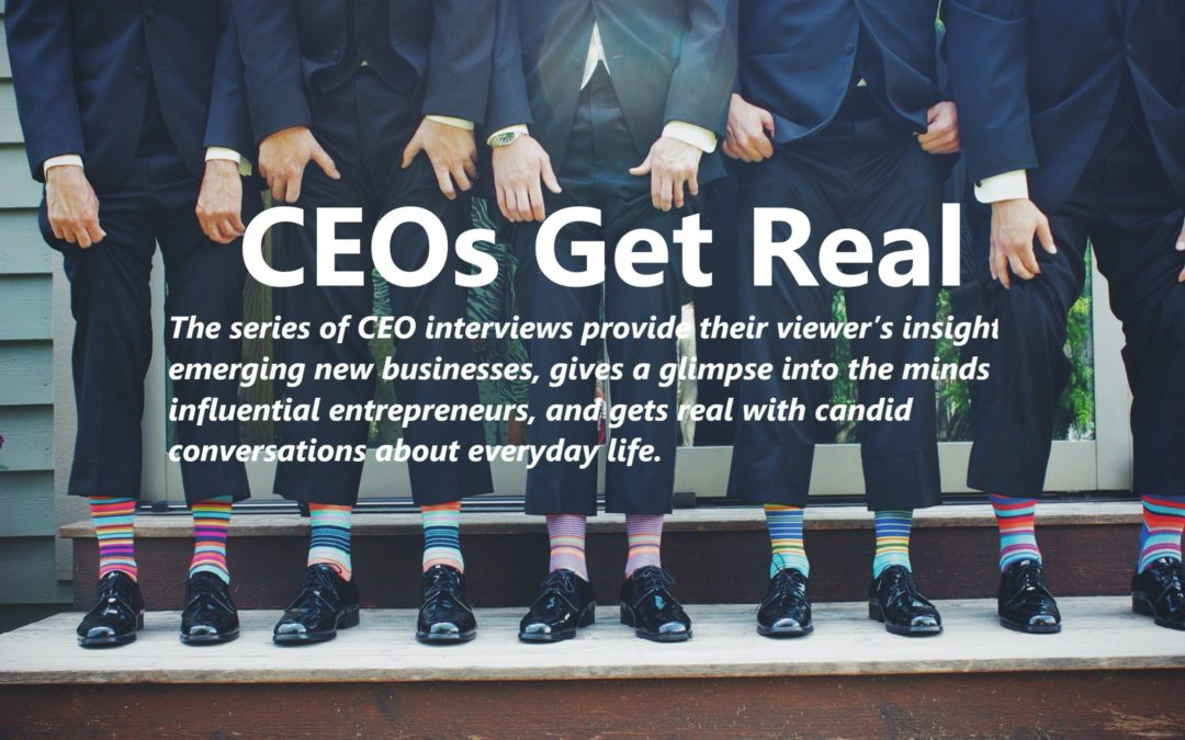 Episode 12 of CEO's Get Real: Syed Gilani, CEO and President of SAFR