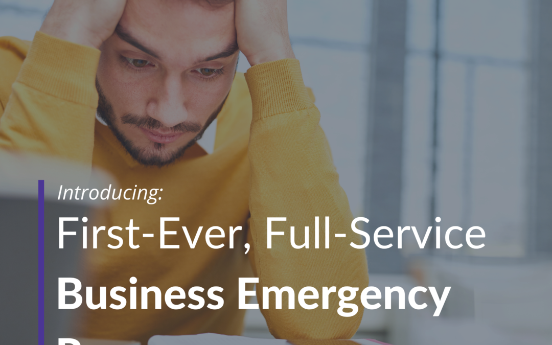 Introducing The First-Ever Full-Service  Business Emergency Room®