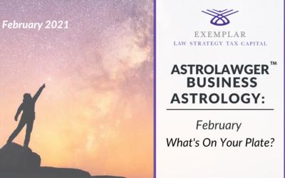 Business Astrology February Blog