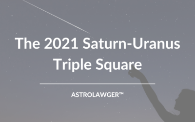 A Lightning-Storm of Innovation and Liberation: The 2021 Saturn-Uranus Triple Square