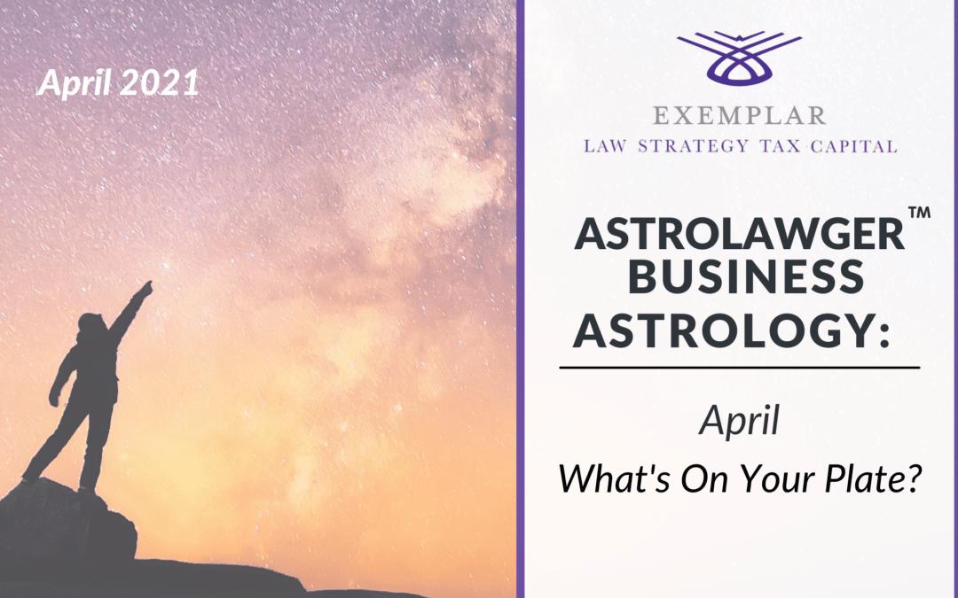 Business Astrology April Blog