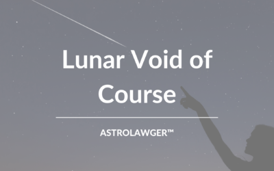 Lunar Void of Course