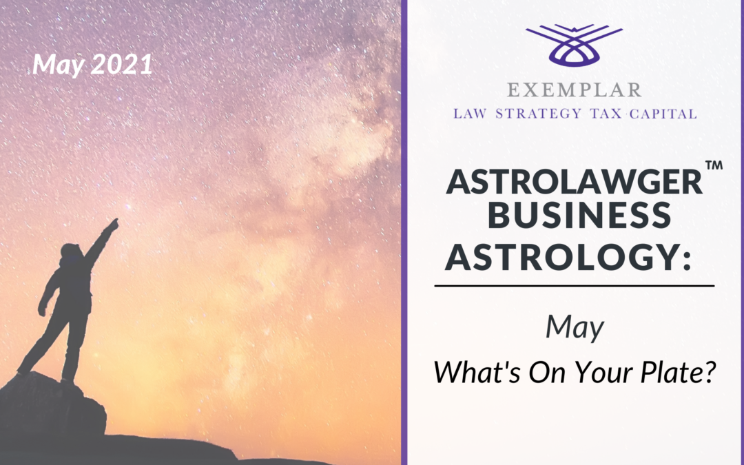 Business Astrology May: What's on Your Plate?