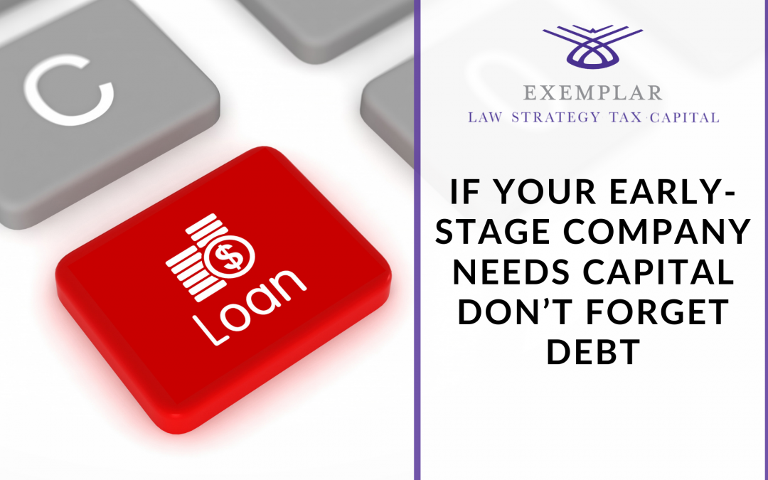 If Your Early-Stage Company Needs Capital Don't Forget Debt Financing