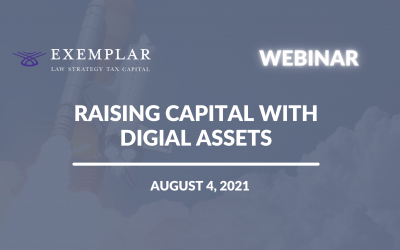 Raising Capital with Digital Assets