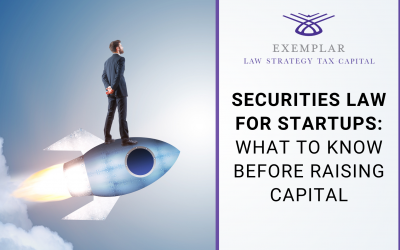 Securities Law for Startups: What To Know Before Raising Capital